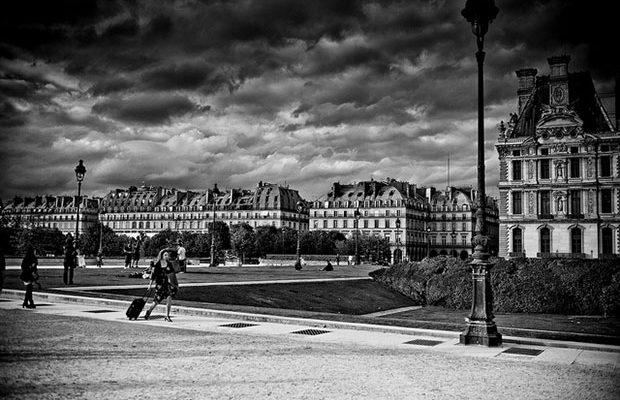 Сад Тюильри – парковая зона в самом сердце Парижа. Фото