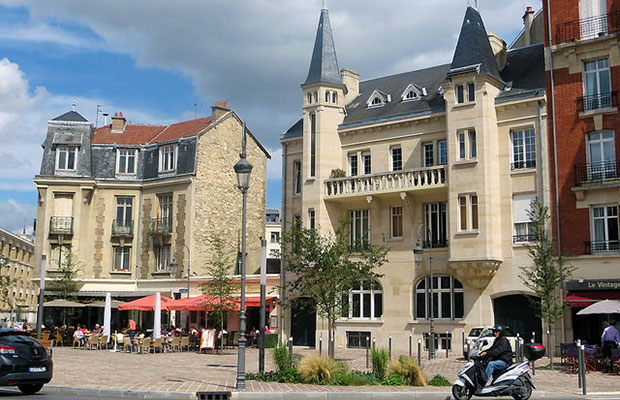 Город Реймс Франция
