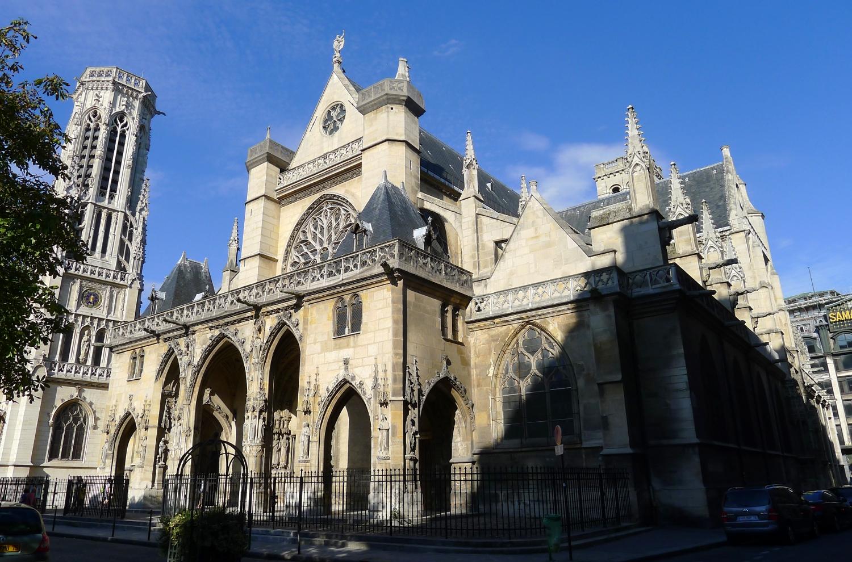 Самый старый храм Парижа