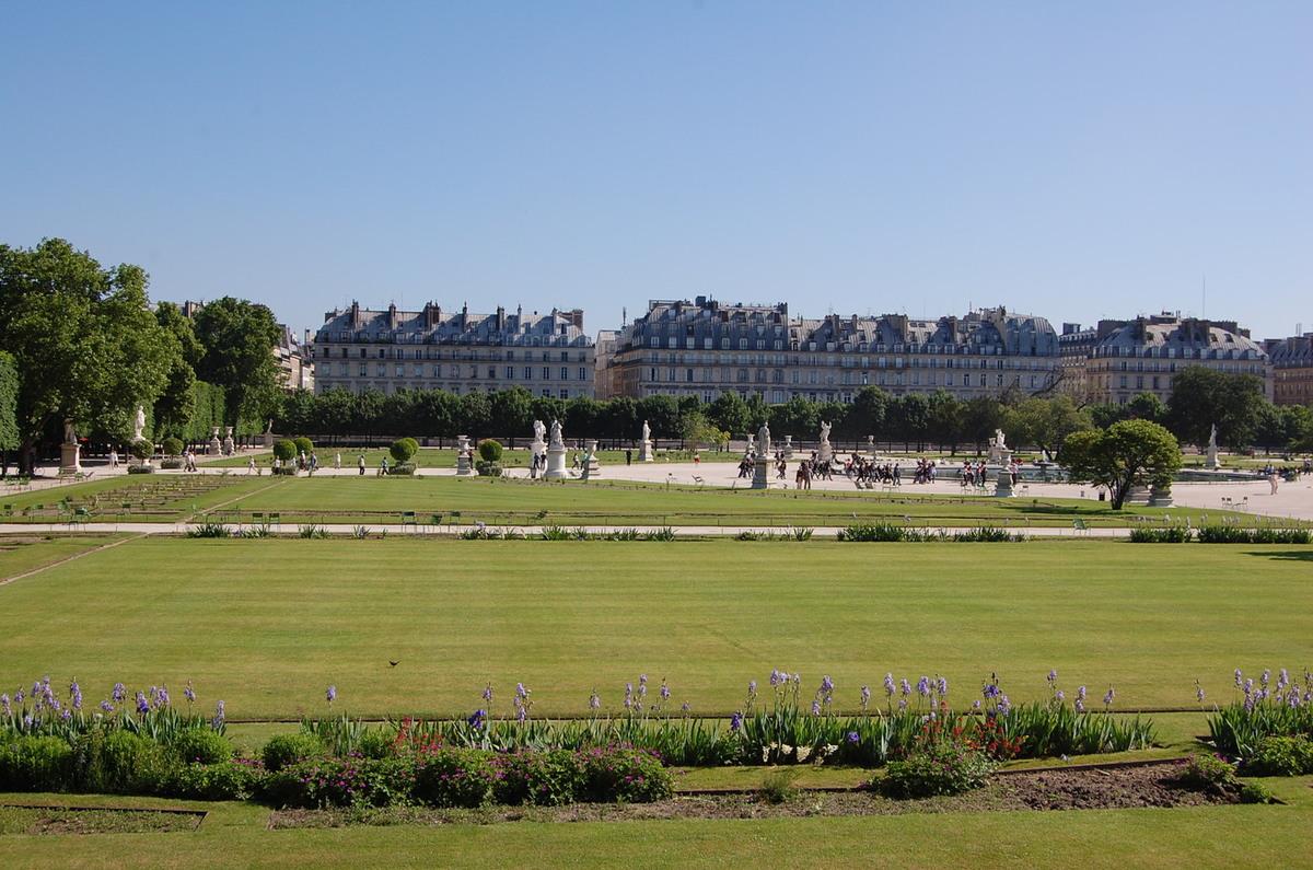 Сад возле Лувра