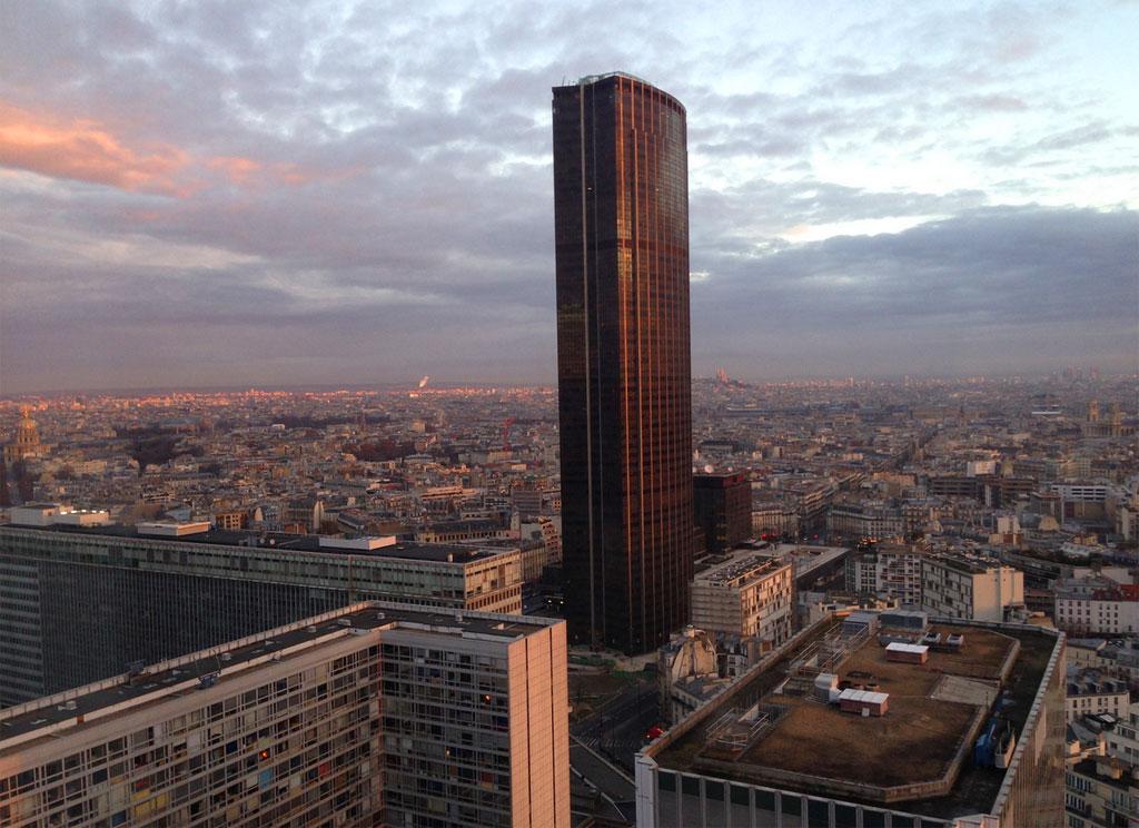 Башня с лучшим видом на Париж