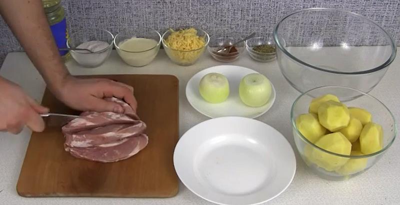 картошки по-французски
