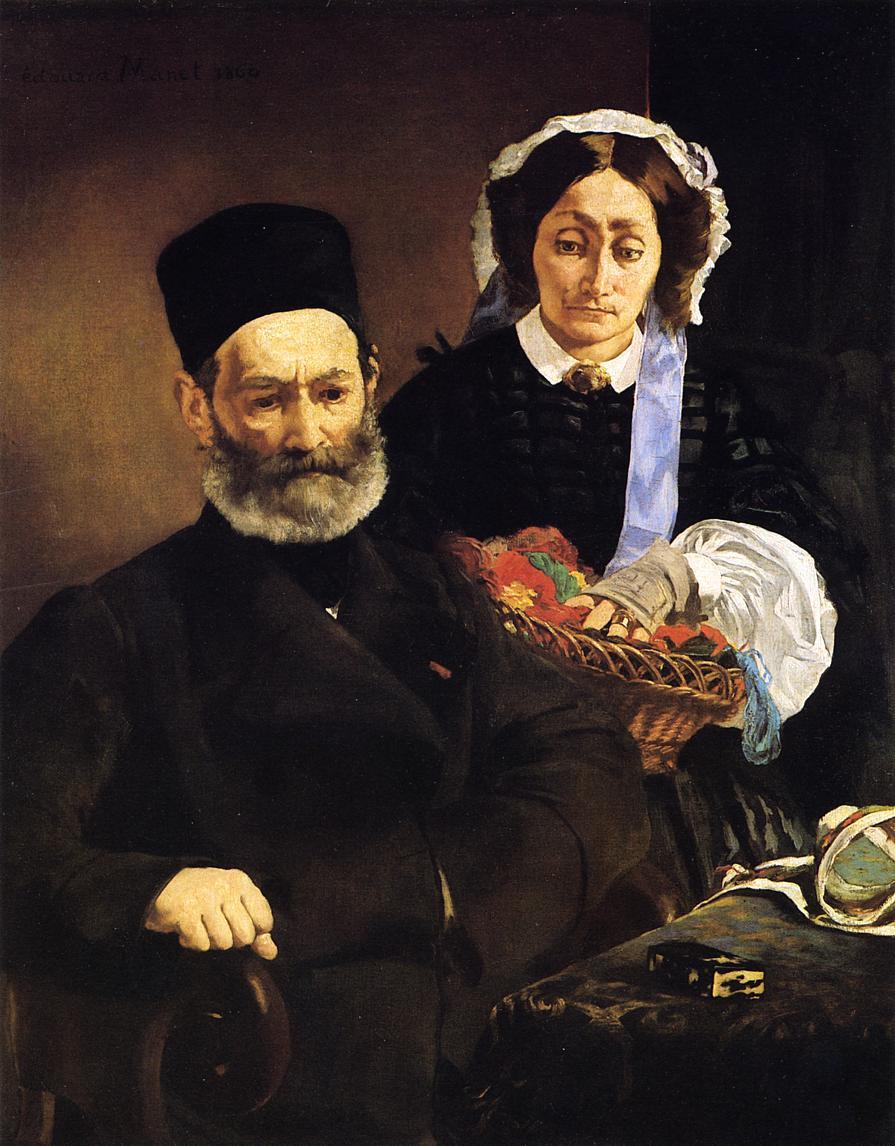 Эдуард Мане Портрет родителей
