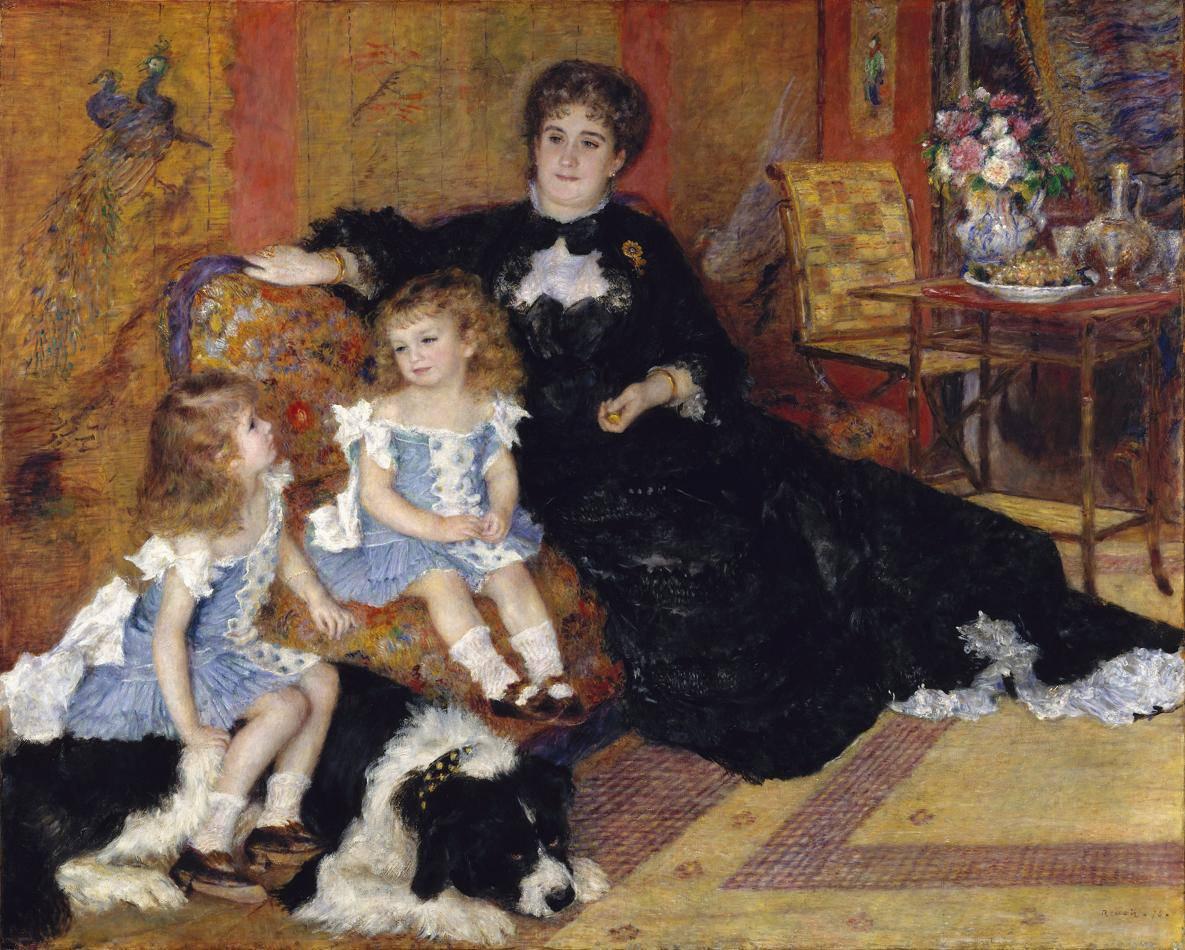 Огюст Ренуар Мадам Шарпантье с детьми