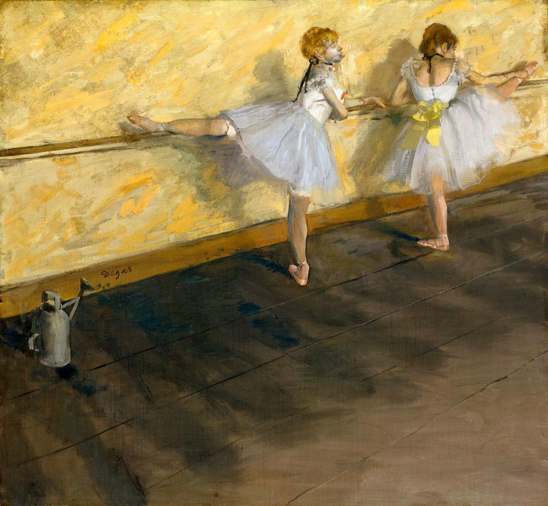 Эдгар Дега Балерины у станка